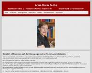 Bild Rechtsanwältin Anna-Maria Rettig