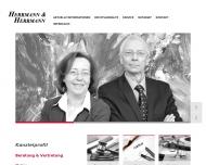 Bild Webseite Herrmann & Herrmann Bochum