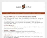 Bild Webseite Rechtsanwältin Kathrin Schöler Bochum