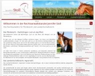 Bild Webseite Rechtsanwältin Jennifer Stoll Aachen