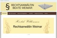 Bild Rechtsanwältin Beate Weimar