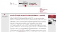 Bild Webseite Rechtsanwältin Heike Rung-Braun Mannheim
