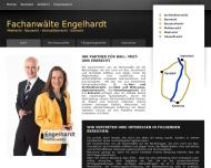 Bild Webseite Rechtsanwalt Diplom-Mediator (FH) Volker Engelhardt Mannheim