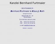 Bild Rechtsanwalt Bernhard Furtmaier