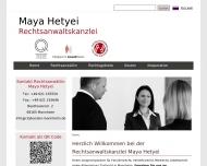 Bild Rechtsanwältin Maya Hetyei