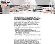 Bild Webseite Rechtsanwalt Frank Beck Mainz