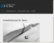 Bild Rechtsanwalt Hanspeter Benz