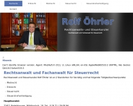 Bild Rechtsanwalt Rolf Öhrler