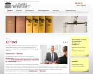 Bild Webseite Rechtsanwalt Holger T. Weismantel Frankfurt