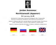 Bild Rechtsanwalt Dr. (VAK Sofia) Jordan Ikonomov LL.M.