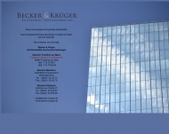 Bild Webseite Becker & Krüger Rechtsanwälte Frankfurt