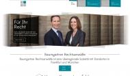 Bild Webseite Rechtsanwältin Caroline Steurer Frankfurt