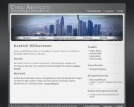 Bild Webseite Rechtsanwalt Julian Heiss Frankfurt
