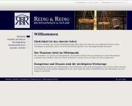 Bild Webseite Rechtsanwalt Marcus Redig Mannheim