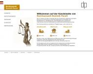 Bild Webseite Rechtsanwalt Dominik Pacelt Frankfurt