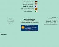 Bild Webseite Rechtsanwältin Rotraut Hermann Frankfurt
