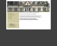 Bild Webseite Rechtsanwalt Marc Oliver Bremer Frankfurt