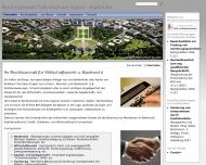 Bild Webseite Rechtsanwalt Falk- Michael Habel Karlsruhe