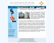 Bild Webseite Rechtsanwalt Dr. Thomas Mayinger Nürnberg