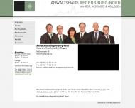 Bild Webseite Rechtsanwalt Herbert Mahrer Regensburg