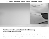 Bild Webseite Rechtsanwalt Dr. Armin Reinisch Nürnberg