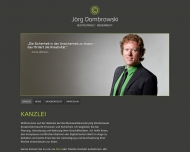 Bild Webseite Rechtsanwalt Jörg Dombrowski Karlsruhe