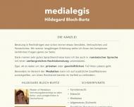 Bild Rechtsanwältin Hildegard Bloch-Burtz