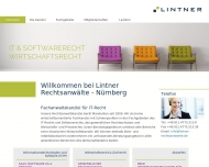 Bild Webseite Rechtsanwalt Dr. Markus Lintner Nürnberg