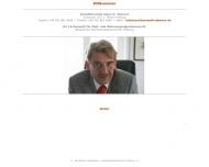 Bild Webseite Rechtsanwalt Klaus Siemers Freiburg im Breisgau