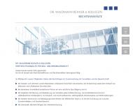 Bild Webseite Rechtsanwalt Dr. Michael Waschk Nürnberg