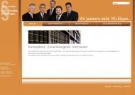 Website Rechtsanwalt Ulrich Mehler