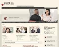 Bild Webseite Rechtsanwälte und Steuerberater Gençer Nürnberg