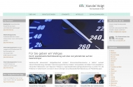 Bild Webseite Rechtsanwalt Frank Dalitzsch Nürnberg