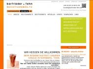 Bild Webseite Rechtsanwälte barfrieder • fehn rechtsanwältenürnberg.de Nürnberg