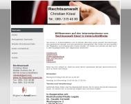 Bild Webseite  Unterschleißheim