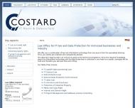 Bild Webseite Rechtsanwalt Thomas P. Costard Nürnberg
