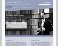 Bild Webseite Rechtsanwalt Boris Burow Karlsruhe