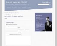 Website Rechtsanwalt Boris Burow