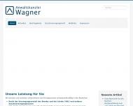Bild Webseite Rechtsanwalt Christian Wagner Karlsruhe