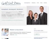 Bild Webseite Rechtsanwältin Cathrin Poschenrieder München