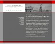 Bild Webseite Rechtsanwältin Annette Eva-Maria Desing München