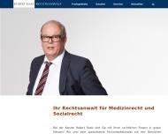 Bild Webseite Robert Raab Rechtsanwälte Nürnberg