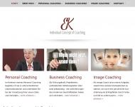 Bild Webseite Individual Concept of Coaching EK Troisdorf