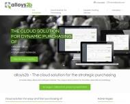 Bild Webseite alloys2b München