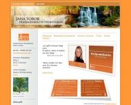 Bild Webseite Praxis für Trauma- & Hypnotherapie Dachau Jana Sobor Dachau
