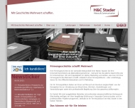 Website HC Stader