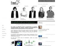 Bild Webseite freel.de Berlin