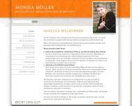 Website Rechtsanwältin Monika Möller