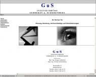 Website Ingenieurbüro GuS