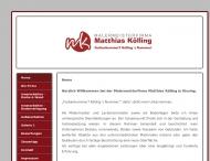 Website Malermeisterfirma Matthias Kölling
